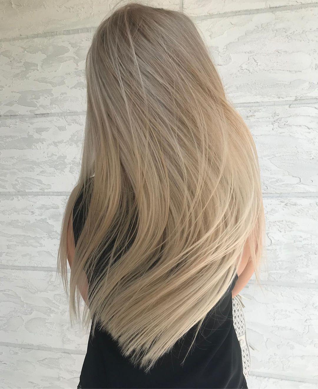 Сложное окрашивание волос 2020